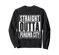 Straight Outta Pa City Shirt Sweatshirt Black