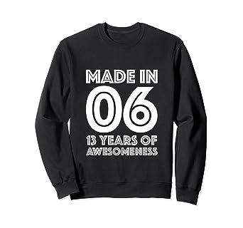 Amazon 13th Birthday Sweatshirt Boys Gifts 13 Year Old Son