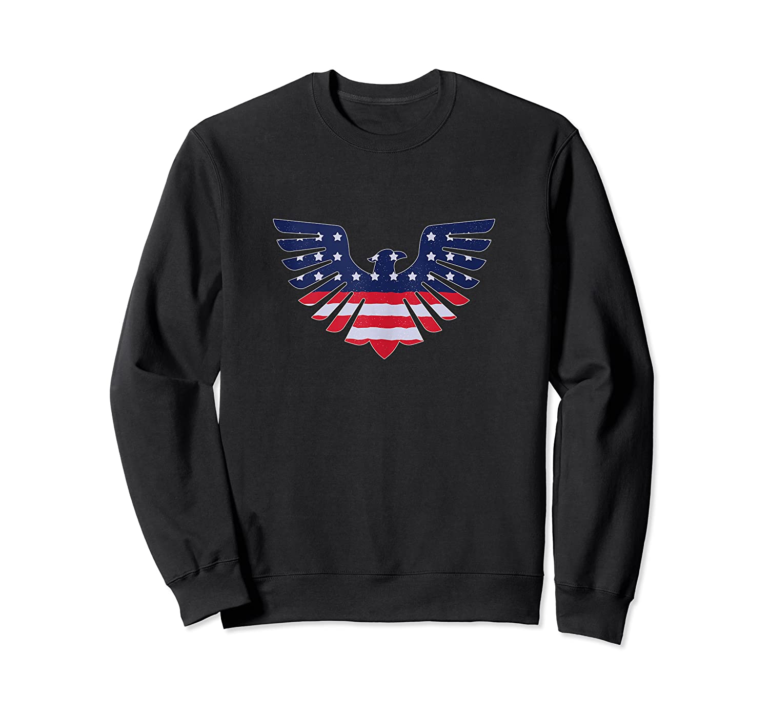 American Bald Eagle - Usa Flag Independence Day 4th Of July Tank Top Shirts Crewneck Sweater