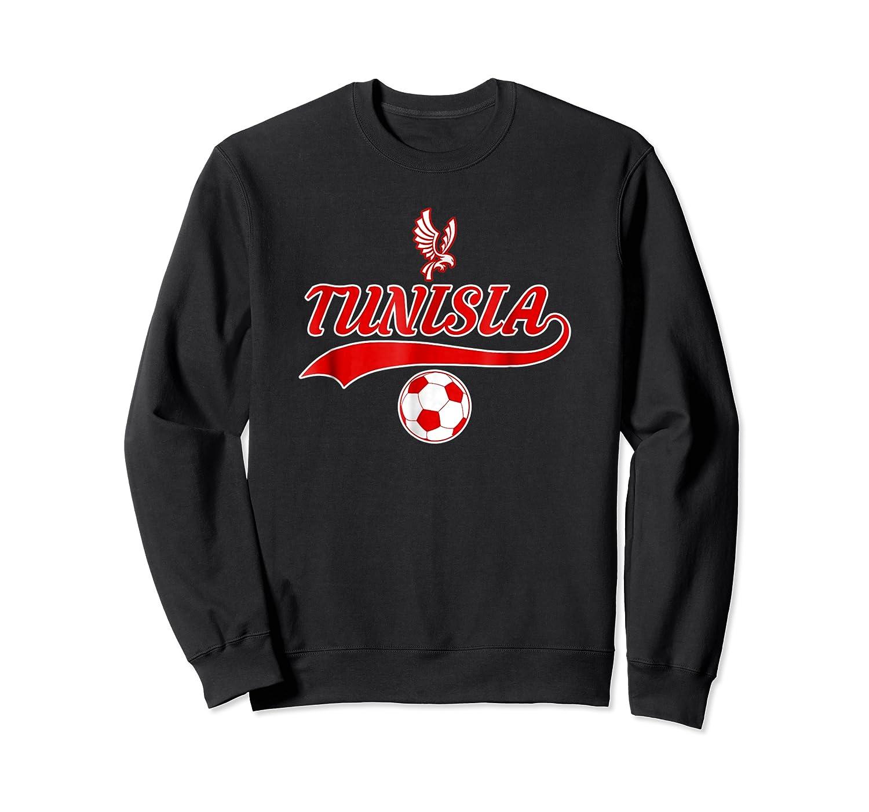 Tunisia Team World Fan Soccer 2018 Cup Fan T Shirt Crewneck Sweater