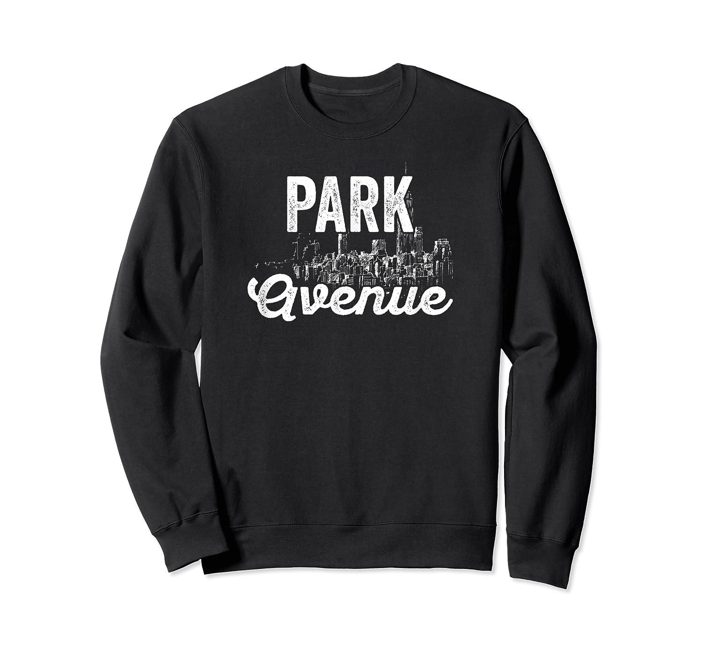 Park Avenue Sign New York City Skyline Shirt For New Yorker Crewneck Sweater