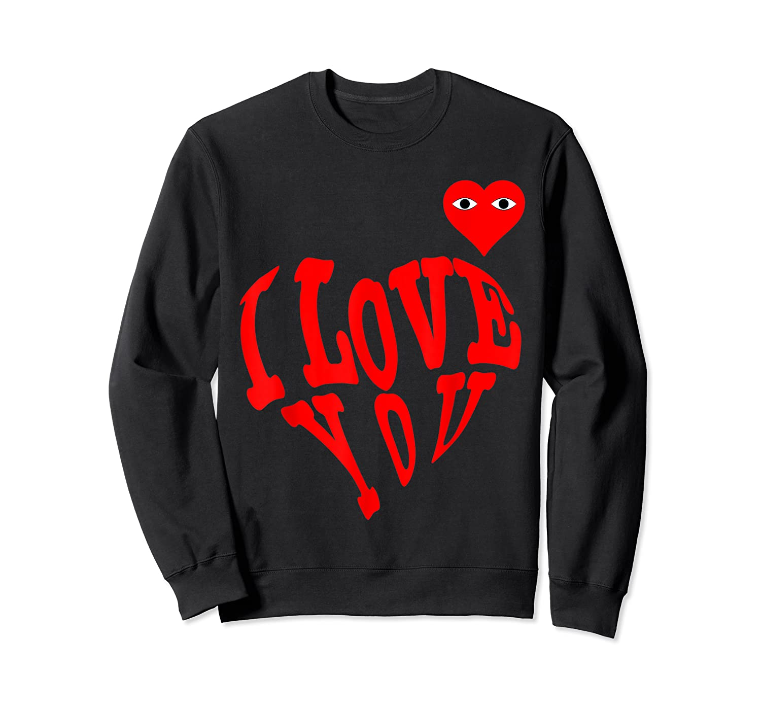 Heart For Comme Lovely In The Des Gift T-shirt Of Garcon Tee Crewneck Sweater