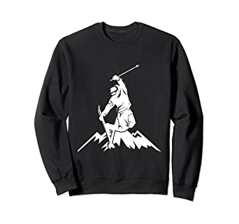 a187e5b90bcf Image Unavailable. Image not available for. Color  Skiing Snow Mountain Ski  Sweatshirt