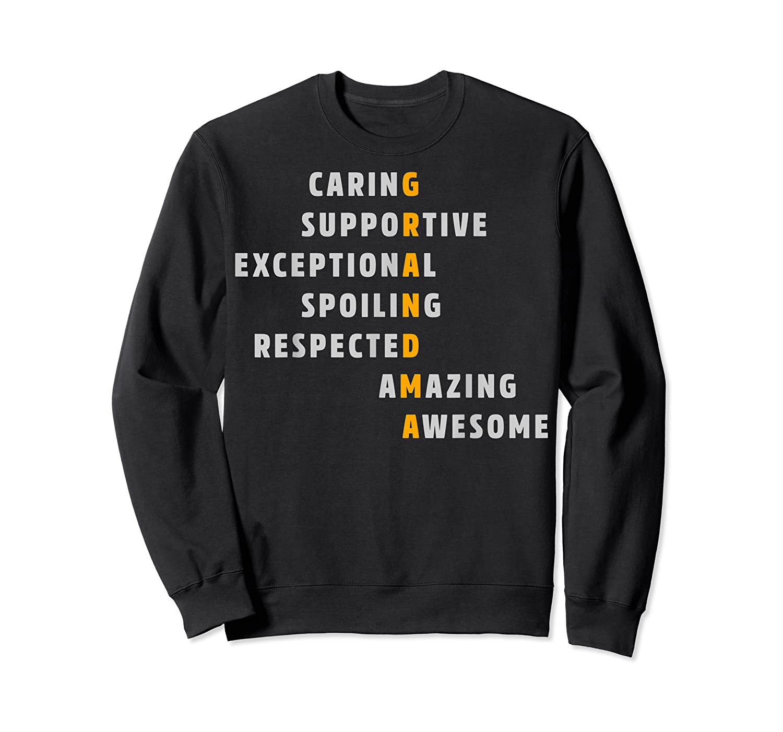 Grandma Crossword Definition Meaning Nana Funny Gift Shirt Crewneck Sweater