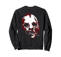 American Horror Story Asylum Bloody Face Shirts Sweatshirt Black