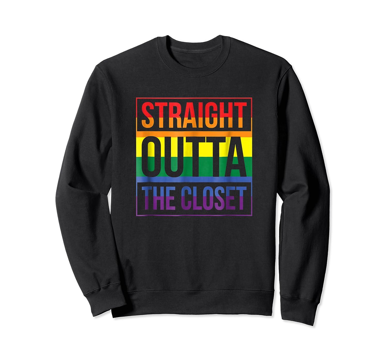Straight Outta The Closet Pride T-shirt Crewneck Sweater