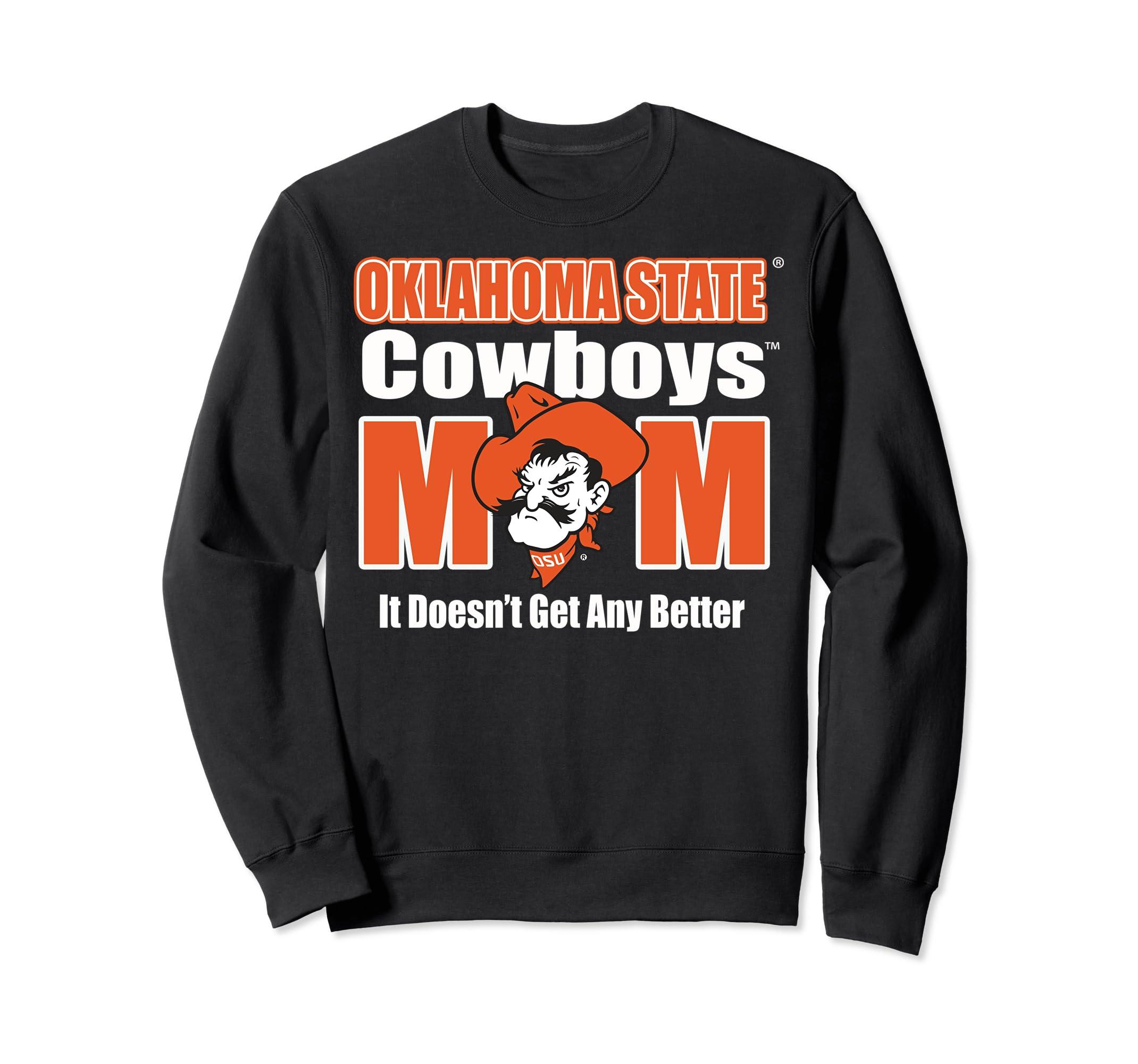 uk availability df261 871de Amazon.com: Oklahoma State Cowboys Mom Shirts Sweatshirt ...