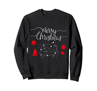 Bestbewertet authentisch 2019 original bieten Rabatte Amazon.com: Merry Christmas Pullover. Christmas Spirit ...
