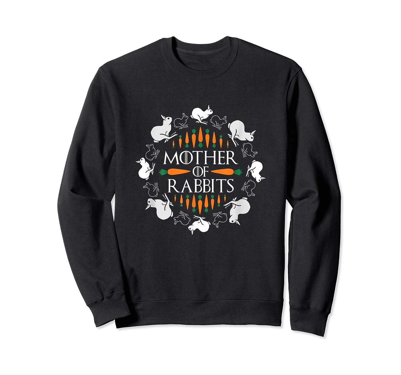 Rabbit Lovers Mother Of Rabbits Cute Bunny T-shirt Crewneck Sweater