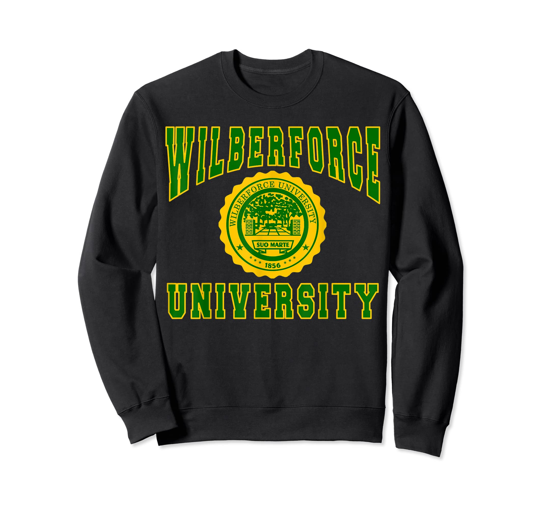 Wilberforce 1856 University Apparel - T shirt-Sweatshirt-Black