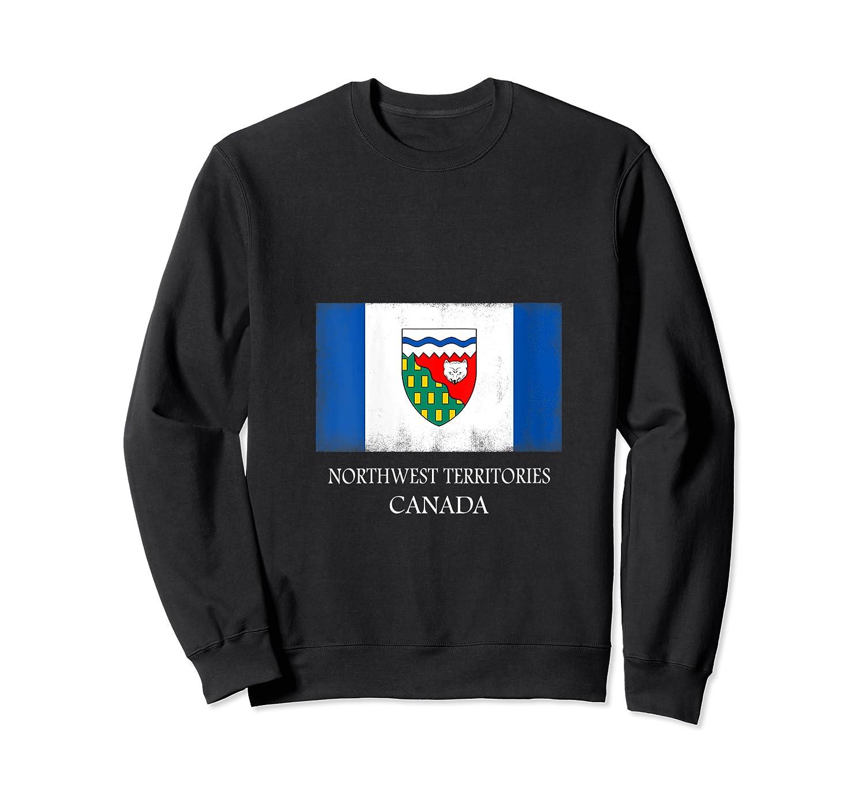 Northwest Territories Canada Province Canadian Flag Shirts Crewneck Sweater