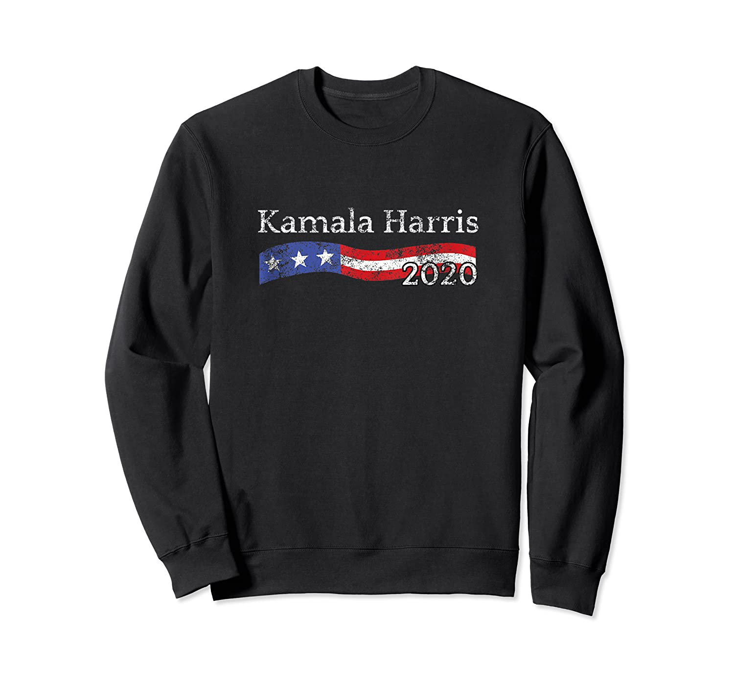 Kamala Harris For President 2020 Distressed For The People Shirts Crewneck Sweater