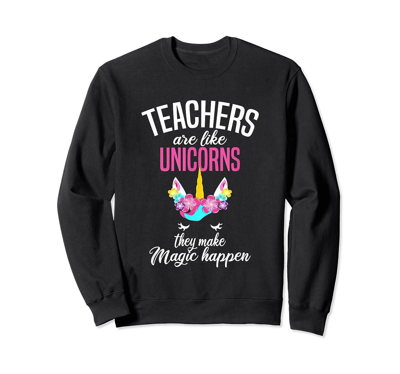 Teas Are Like Unicorns Tea Appreciation Gift Shirts Crewneck Sweater