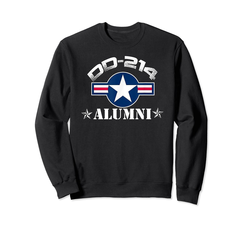 Dd-214 Alumni T-shirt Air Force &  Crewneck Sweater