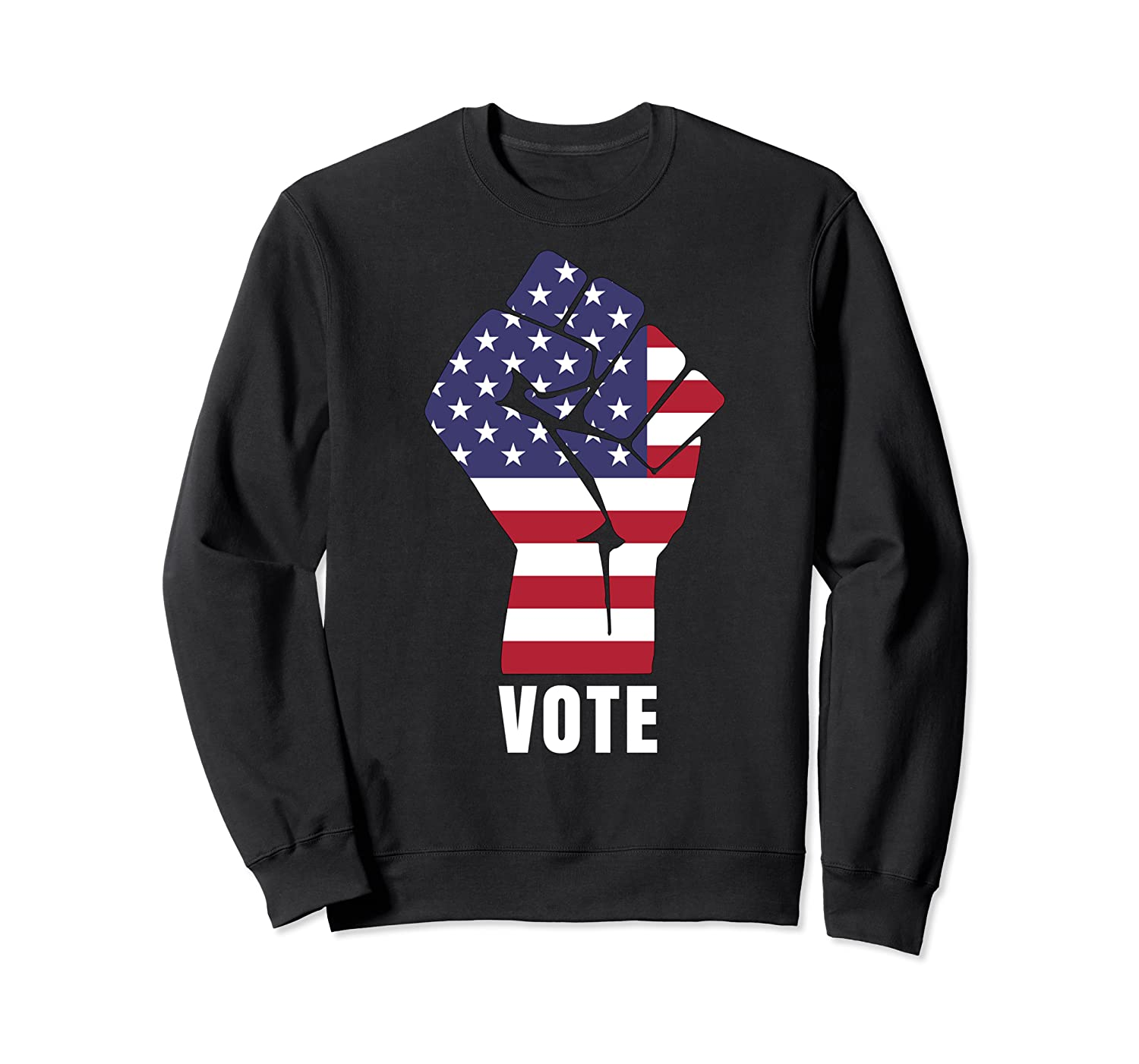 Vote Political Patriotic Rise Up And Vote Gift Shirts Crewneck Sweater