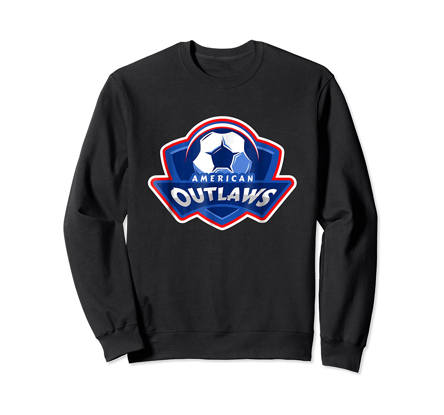 American Outlaw Soccer Game Fan Patriot Shirt Crewneck Sweater