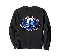 American Outlaw Soccer Game Fan Patriot Shirt Sweatshirt Black