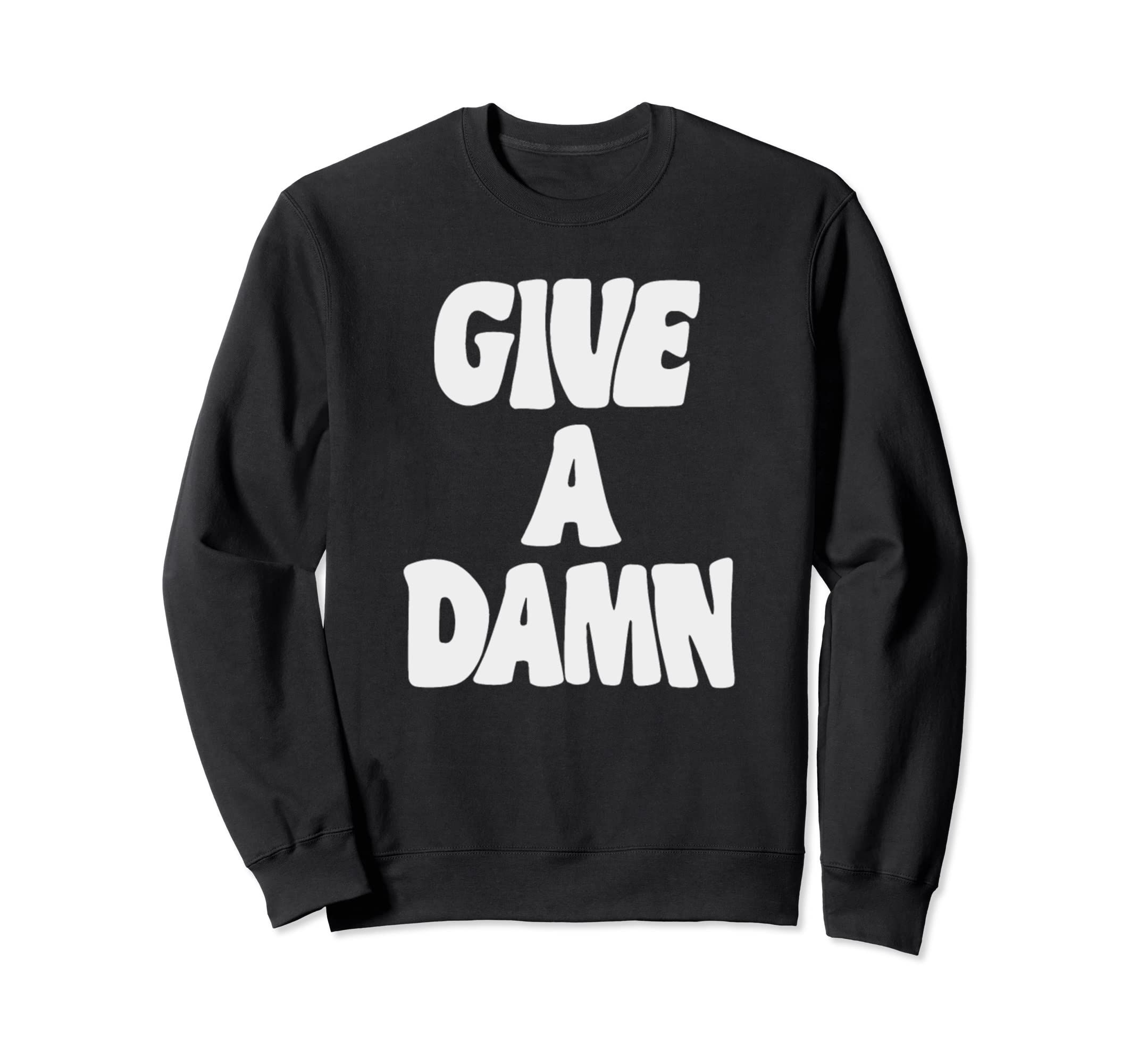 Amazoncom Give A Damn Sweater Clothing