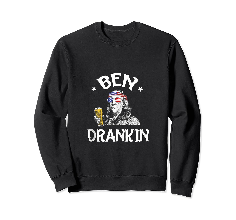 4th Of July For Ben Drankin Benjamin Franklin Shirts Crewneck Sweater