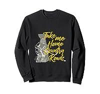 Roads To Hockey Country Fan Take Me Home Top Gift Tank Top Shirts Sweatshirt Black