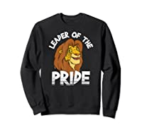 Lion King Adult Simba Leader Of Pride Graphic Shirts Sweatshirt Black