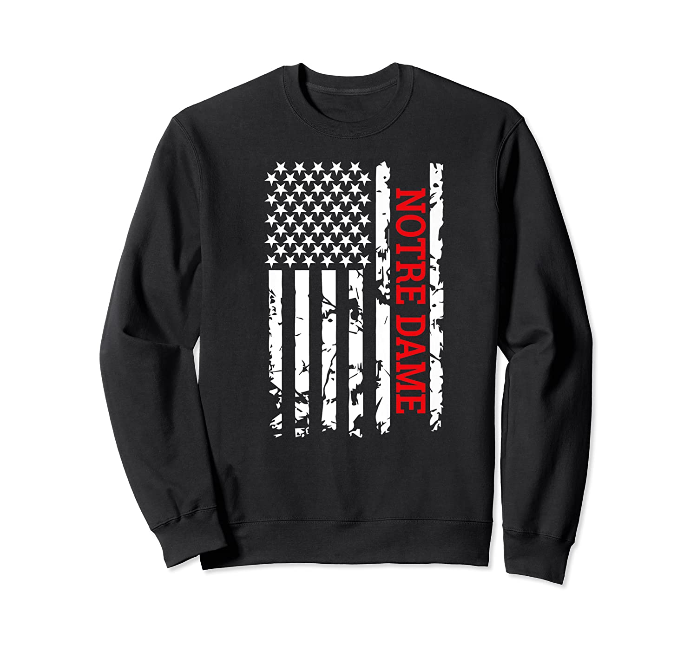 Notre Dame City Tshirt Crewneck Sweater