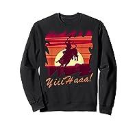 Rodeo 2019 T Shirt Houston Rodeo Cowboy Yiiihaaa Sweatshirt Black