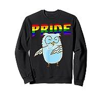 Flossing Owl Lesbian Bisexual Gay Lgbt Pride Gifts Shirts Sweatshirt Black