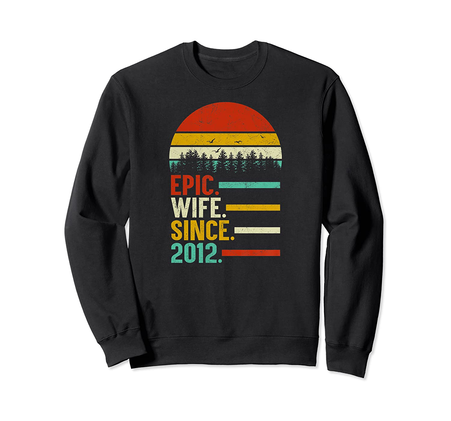 7th Wedding Anniversary Gift Ideas For Her: Womens Epic Wife Since 2012, 7th Wedding Anniversary Gift
