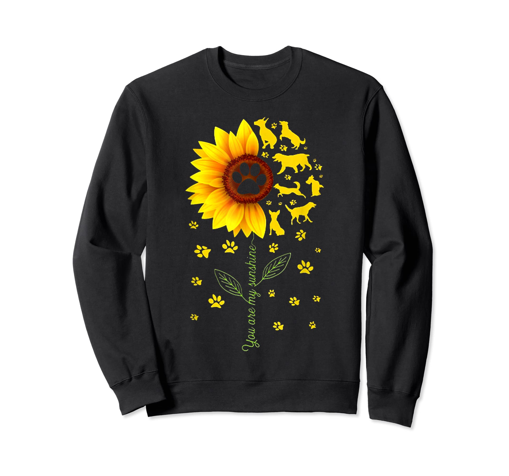 You are my Sunshine t-shirt-Sweatshirt-Black
