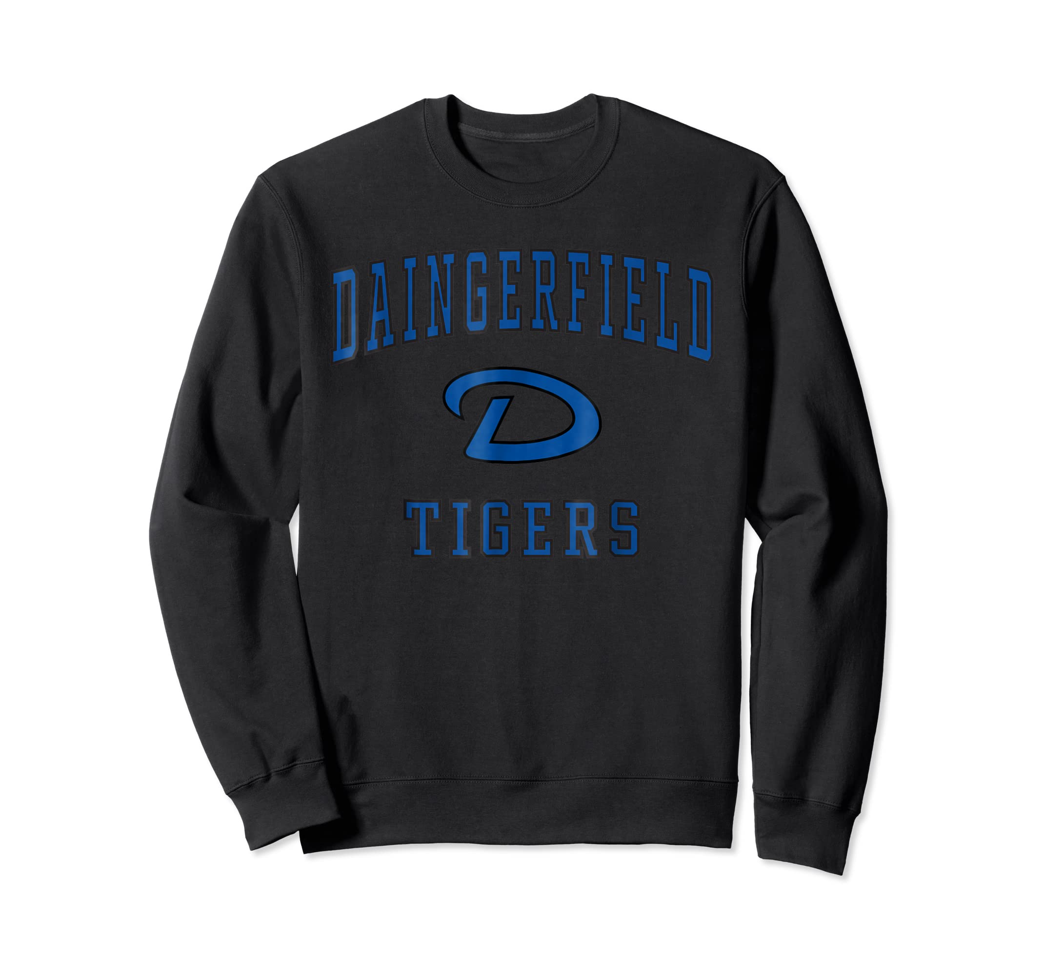 Daingerfield High School Tigers T-Shirt C1-Sweatshirt-Black