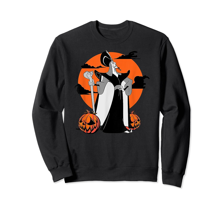 Disney Jafar The Powerful Halloween T Shirt Crewneck Sweater