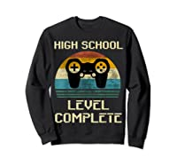2019 High School Graduation Shirt Gamer Graduation Gifts-min Sweatshirt Black