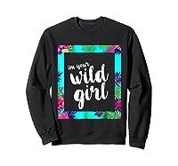 Funny Free Woman T Shirt Frame Of Flora And Fauna Sweatshirt Black