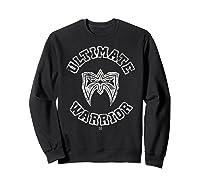 Ultimate Warrior Mask 1 Color Shirts Sweatshirt Black