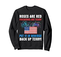 Put It In Reverse Back Up Terry Fireworks 4th Of July Shirts Sweatshirt Black