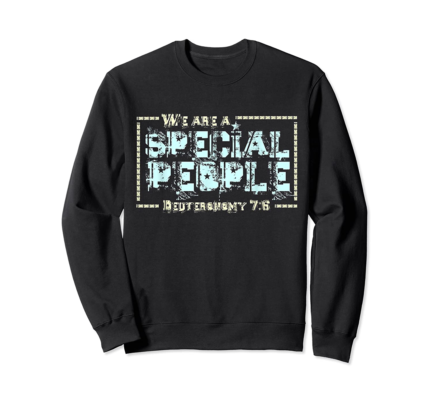 Hebrew Israelite Clothing We Are A Special People Israel Shirts Crewneck Sweater