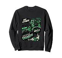 Vintage Halloween Killer Monster Horror Gift Shirts Sweatshirt Black