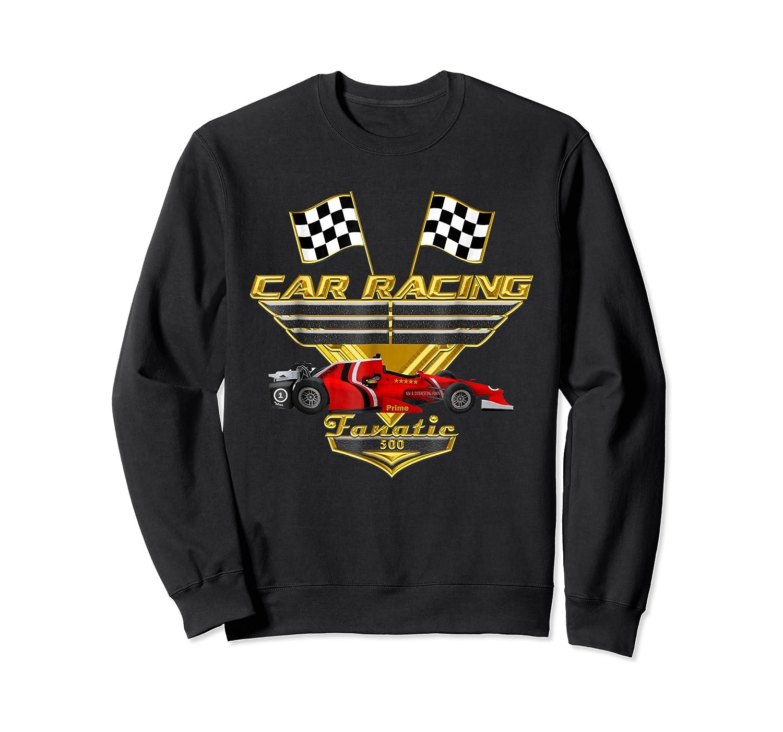 Car Racing Fanatic 500 Miles T Shirt Red Car Edition Crewneck Sweater
