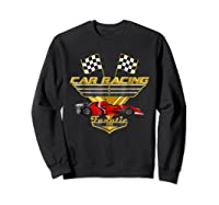 Car Racing Fanatic 500 Miles T Shirt Red Car Edition Sweatshirt Black