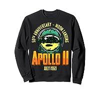 Apollo 11 50th Anniversary Shirts Sweatshirt Black