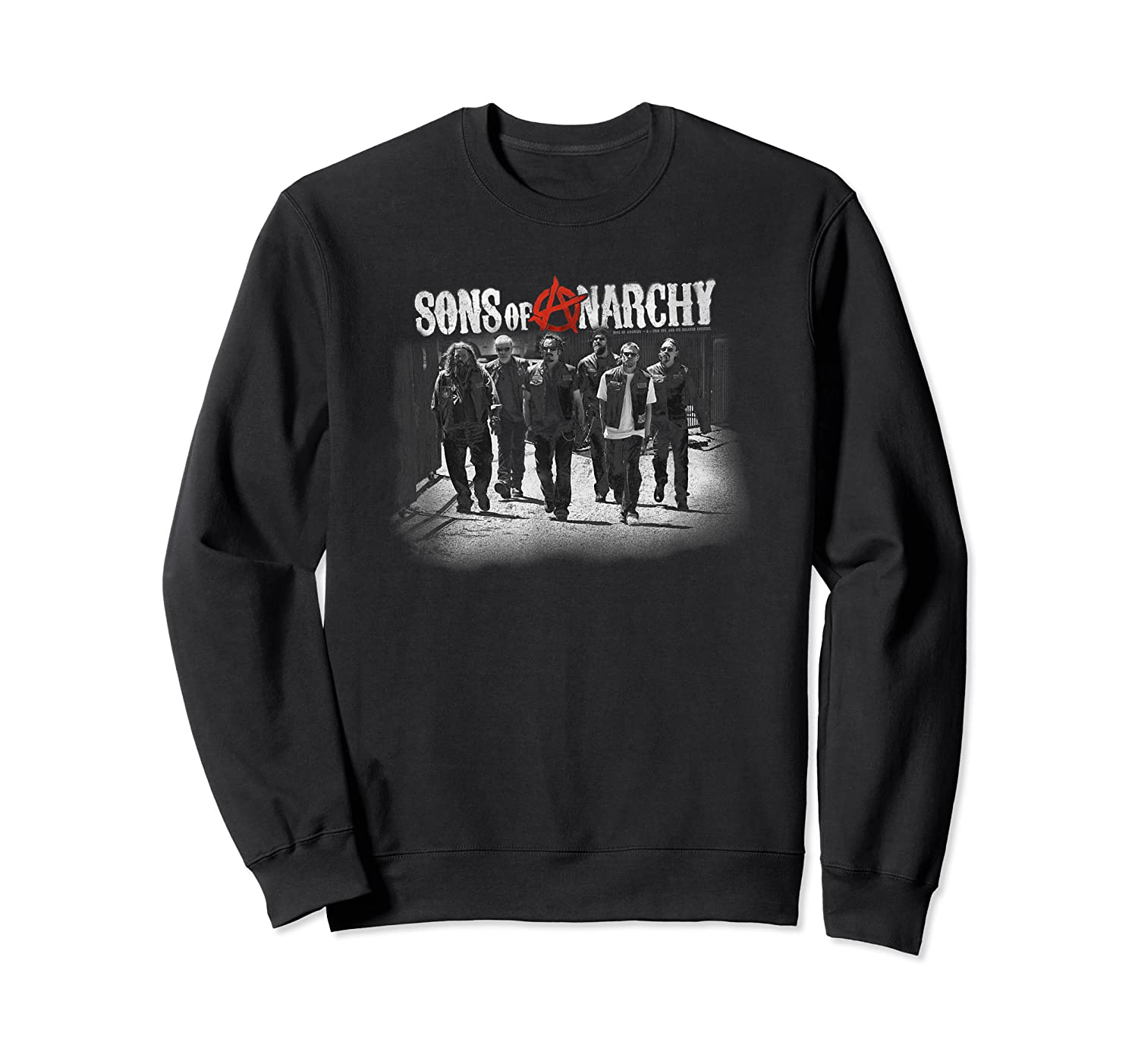 Sons Of Anarchy Rolling Deep T Shirt Crewneck Sweater