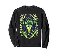 Lion King Evil Scar Graphic Shirts Sweatshirt Black