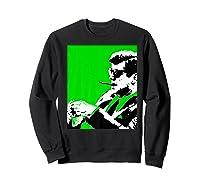 John F Kennedy 35th President - Jfk Smoking Cigar Blunt Premium T-shirt Sweatshirt Black