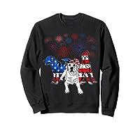 Labrador 4th Of July America Flag Gifts Shirts Sweatshirt Black