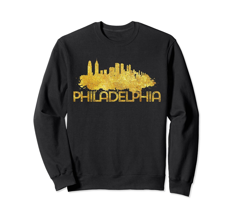 Philadelphia City Skyline Travel Souvenir Gift T Shirts Crewneck Sweater