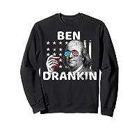 Funny 4th Of July Ben Drankin Beer Usa Patriotic Shirts Sweatshirt Black