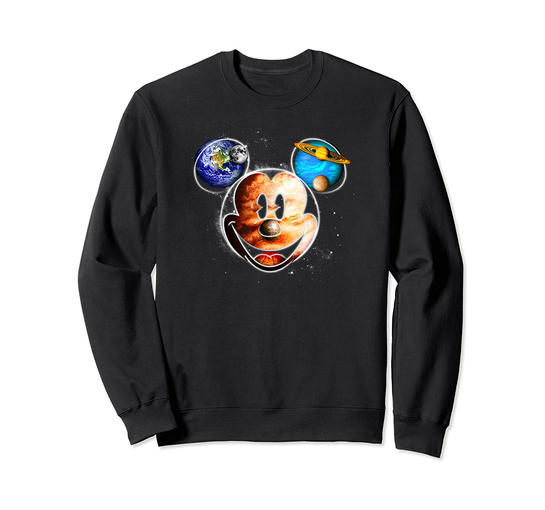 Disney Mckey Mouse Universe T Shirt Crewneck Sweater