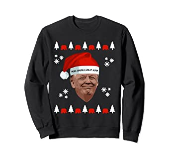 24c3435ae00b Image Unavailable. Image not available for. Color: Donald Trump Make America  Great Ugly Christmas Sweater