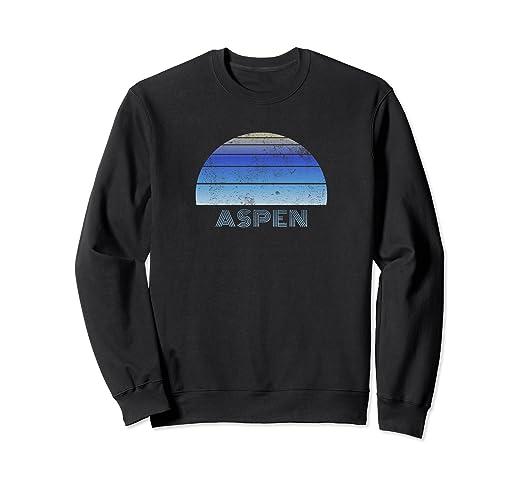 98a503a0b Amazon.com: Sweatshirt For Aspen Colorado - Ski Snowboard Fan: Clothing